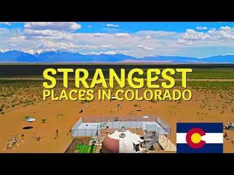 The Most Unique Or Strangest Places In Colorado
