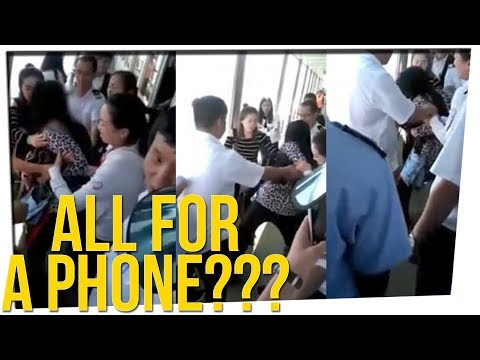 Woman Tries to Jump Off Cruise Ship for a Phone ft. Gina Darling & DavidSoComedy
