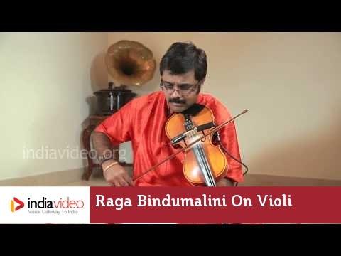 Raga Series - Raga Bindumalini on Violin by Jayadevan