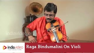 Raga Bindumalini on Violin by Jayadevan - Classical instrumental | India Video