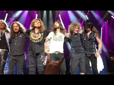 Whitesnake LIVE in Syracuse NY- Take a bow
