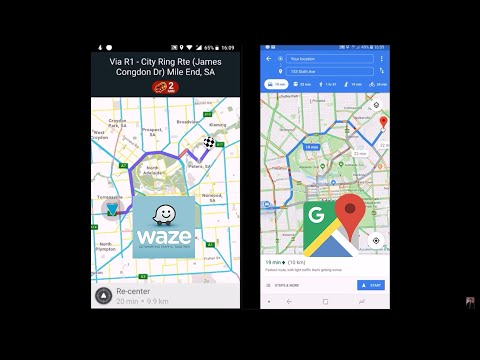Waze Vs Google Maps - Comparison Of Two Apps From Google