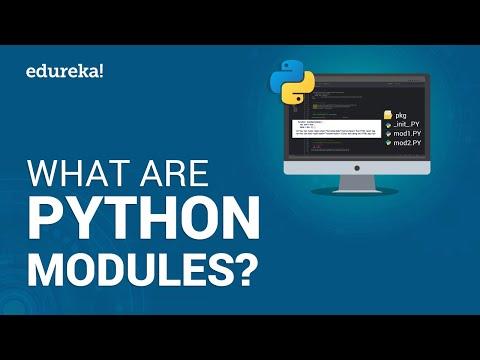 What Are Python Modules? | Modules In Python | Python Tutorial For Beginners | Edureka thumbnail