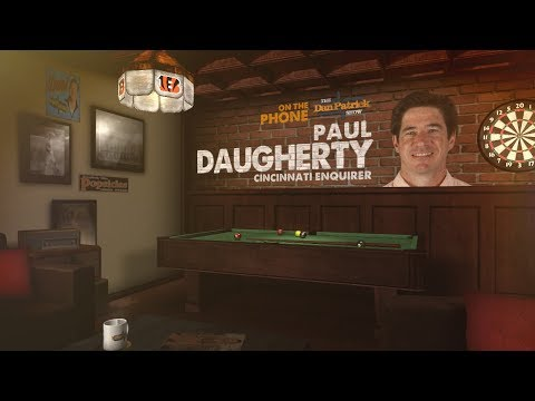 Cincinnati Enquirer's Paul Daugherty on The Dan Patrick Show | Full Interview | 9/15/17