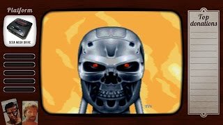 #17 Terminator 2: Judgement Day на sega mega drive | Old Old Games | Старые, старые игры