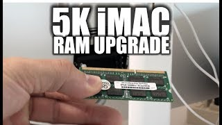 How to Upgrade the Memory Ram on a 5K iMac