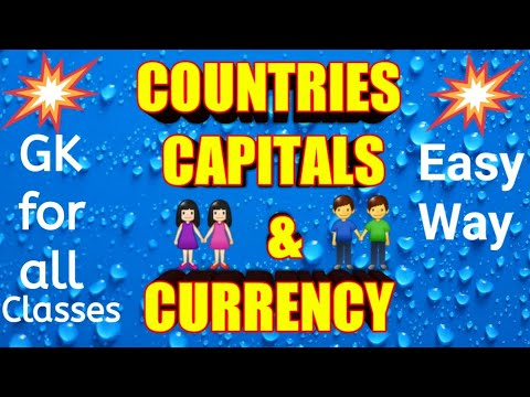 country-capital-&-currency-|-countries-and-their-capitals-|-currency-of-countries-|-all-countries