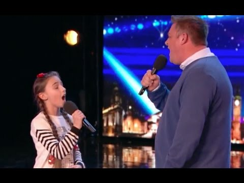 Father and Daughter Deliver a BEAUTIFUL Performance | Ep 4 | Britain's Got Talent 2017