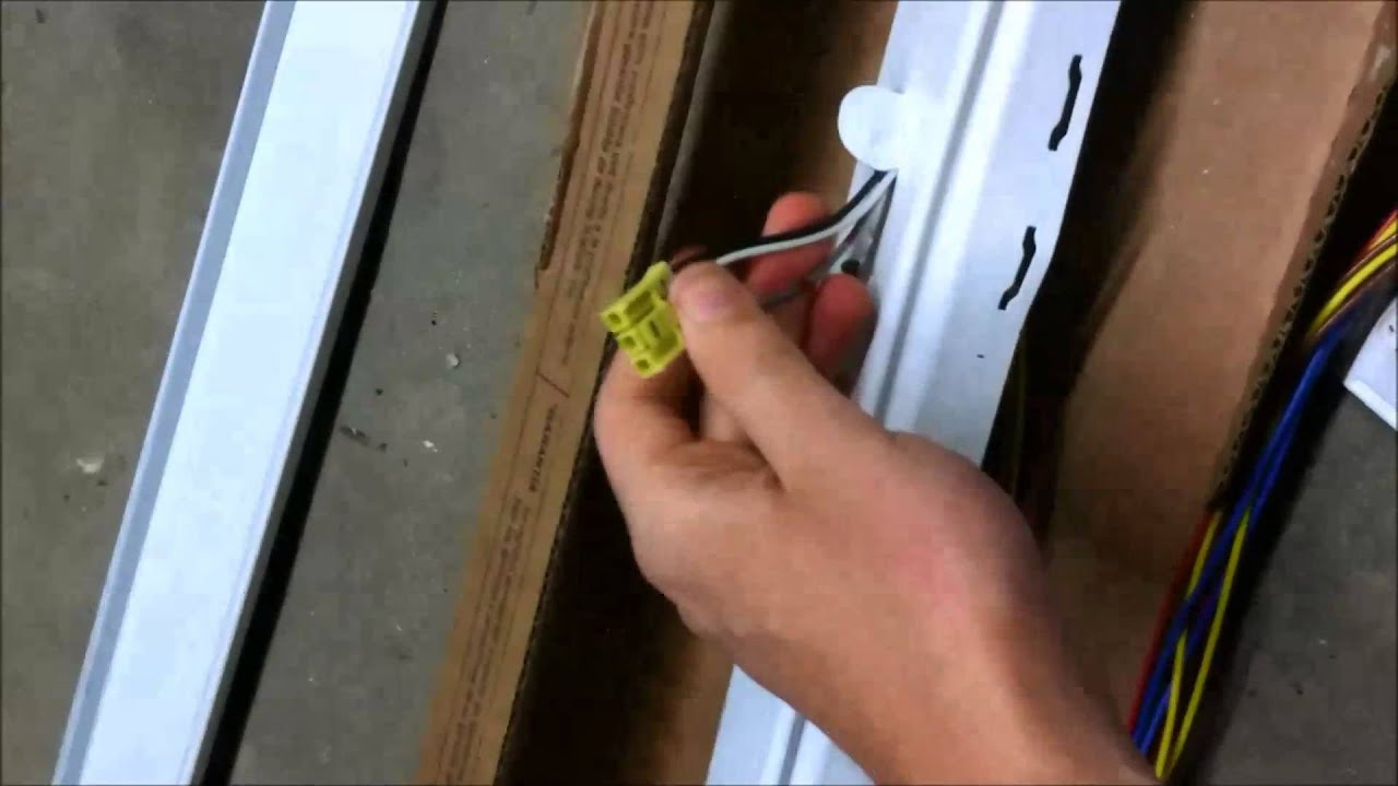 Installing Lithonia Fluorescent Lights T8 T5 T5ho Youtube Philips F54t5ho Ballast Wiring Diagram