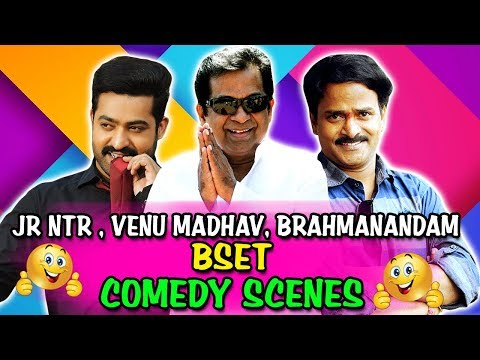 Jr NTR, Venu Madhav, Brahmanandam Best Comedy Scenes | South Indian Hindi Dubbed Best Comedy Scenes