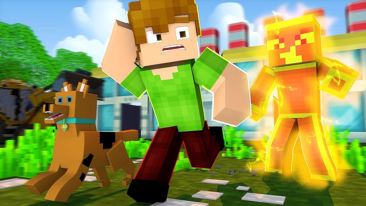 Minecraft: Scooby-Doo! - O Fantasma De 10.000 Volts ! #03 - YouTube
