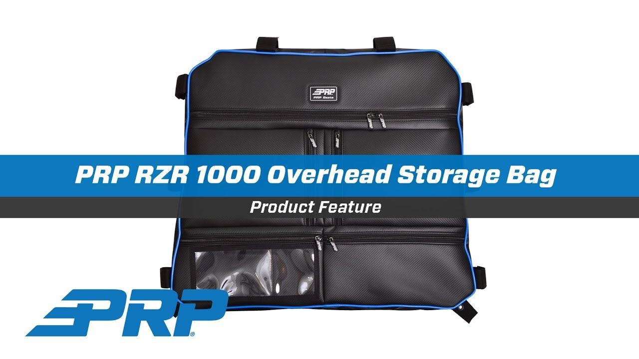 PRP Black//Blue Vinyl Over Head Storage Bag Polaris RZR1000 RZR 4 1000