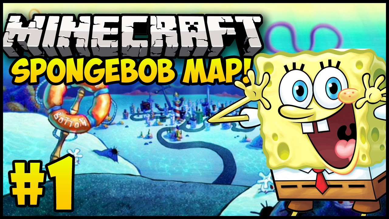 Minecraft Maps: SPONGEBOB ADVENTURE MAP! - Episode 1 (Minecraft ...