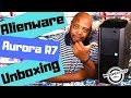 Dell Alienware Aurora R7 Gaming Desktop Unboxing - (Core i7, Nvidia Geforce GTX 1070)