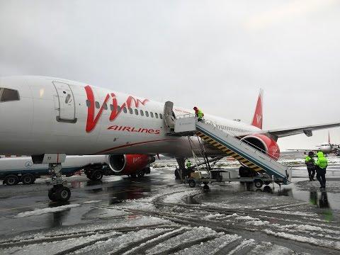 Boeing 757-200 Вим Авиа Взлет из Домодедово