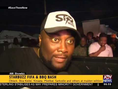 Starbuzz FIFA & BBQ Bash - AM Showbiz on Joy News (12-6-17)