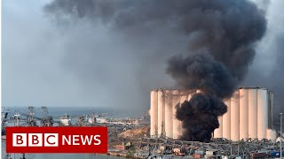 Widespread damage after huge explosion in Beirut - BBC News