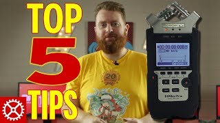 Top 5 Ways To Get More from Your Zoom H4n Pro Audio Recorder