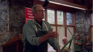 Joel Salatin Processes Chickens - Mother Earth News Fair