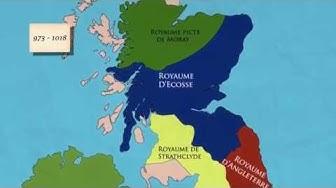 Histoire de l'Ecosse: de la chute de l'Empire Romain à l'émergence du royaume d'Alba