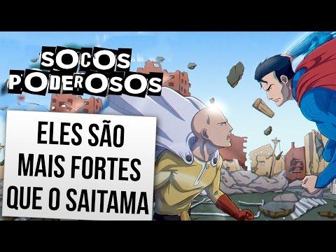 PERSONAGENS COM SOCOS MAIS FORTES DO QUE O SAITAMA