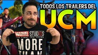 🔥CAMINO A ENDGAME🔥 TODOS LOS TRÁILERS DE MARVEL STUDIOS 2008-2019 thumbnail