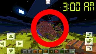 OMG! NEVER Playing Minecraft Pocket Edition at 3:00 AM EVER AGAIN! // MCPE at 3:00 AM