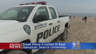 Small Plane Crashes Off Coast Of Long Island