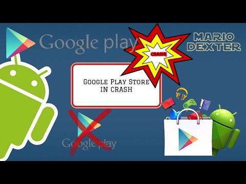Come risolvere il problema di google play store in crash