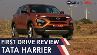Tata Harrier SUV Review: The Best Tata Car Ever? | NDTV carandbike