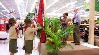 Wal-Mart in Hope,Arkansas Rededication, Part 1