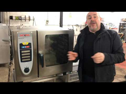 Rational SCC 6 Grid Combination Oven - Reconditioned