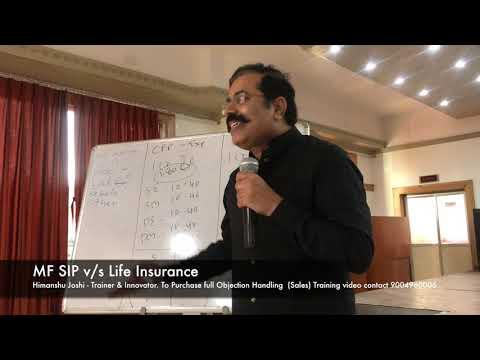 MF SIP vs Life Insurance