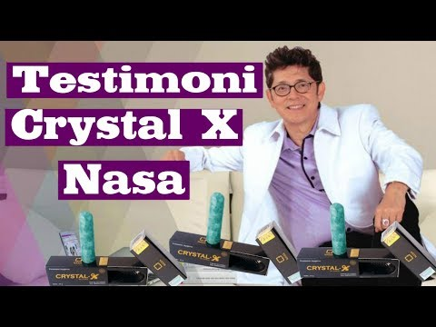 BAHAYA...!!! Crystal X Nasa Testimoni , MANFAAT CRYSTAL X ASLI NASA