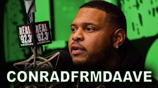 "Conradfrmdaave on Going Viral, Being ""BOUTABAG"" & Relationship w/ Nipsey Hussle 