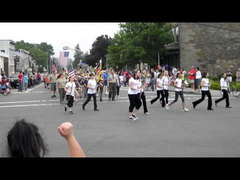 Dryden High School Band march