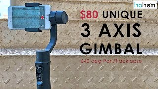 First Ever Gimbal with TRACKLAPSE! Hohem iSteady Mobile