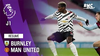 Résumé : Burnley 0-1 Manchester United - Premier League (J1)
