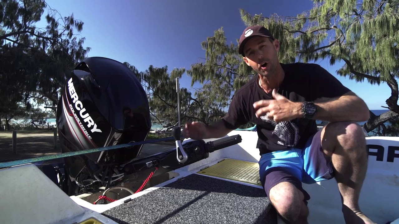 Nigel from AFN reviews the Mercury FourStroke 40-60hp Command Thrust  outboards
