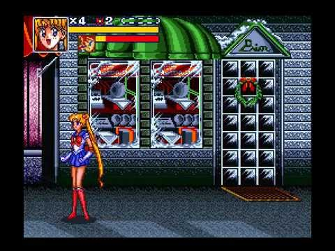 SNES Longplay [292] Bishoujo Senshi Sailor Moon R