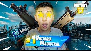 PRIMERA VICTORIA CON EL ESCUADRON EN FORTNITE!!🤯🔥  - Warzy