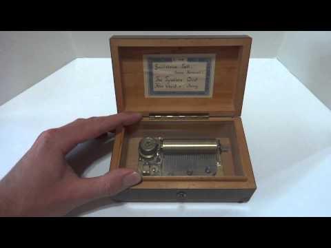 Vintage Reuge 50 note music box