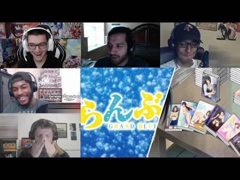 GRAND BLUE Episode 2 Reaction
