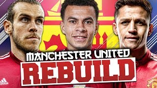 REBUILDING MANCHESTER UNITED!!! FIFA 18 Career Mode (1 YEAR ANNIVERSARY SPECIAL)