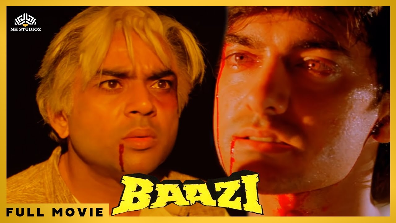Download Baazi (1995) || Aamir Khan, Mamta Kulkarni, Paresh Rawal || Action Hindi Full Movie