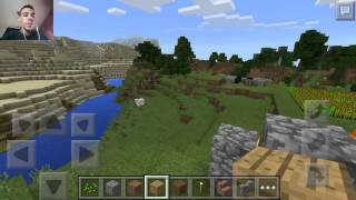 Minecraft pocket edition#2 Il mio vero mondo