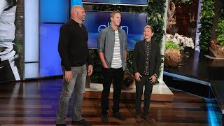 L.A. Rams Players Make a Surprise Appearance on Ellen