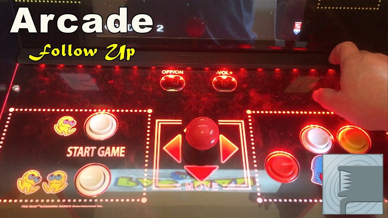 Arcade 1up 40th Anniversary Pac Man Follow Up Video - YouTube