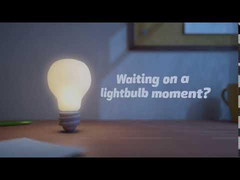 Lightbulb Moment Facebook Ad Video Template
