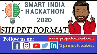 SIH ppt format (2020) I Smart India hackathon Proposal I Projectcontest